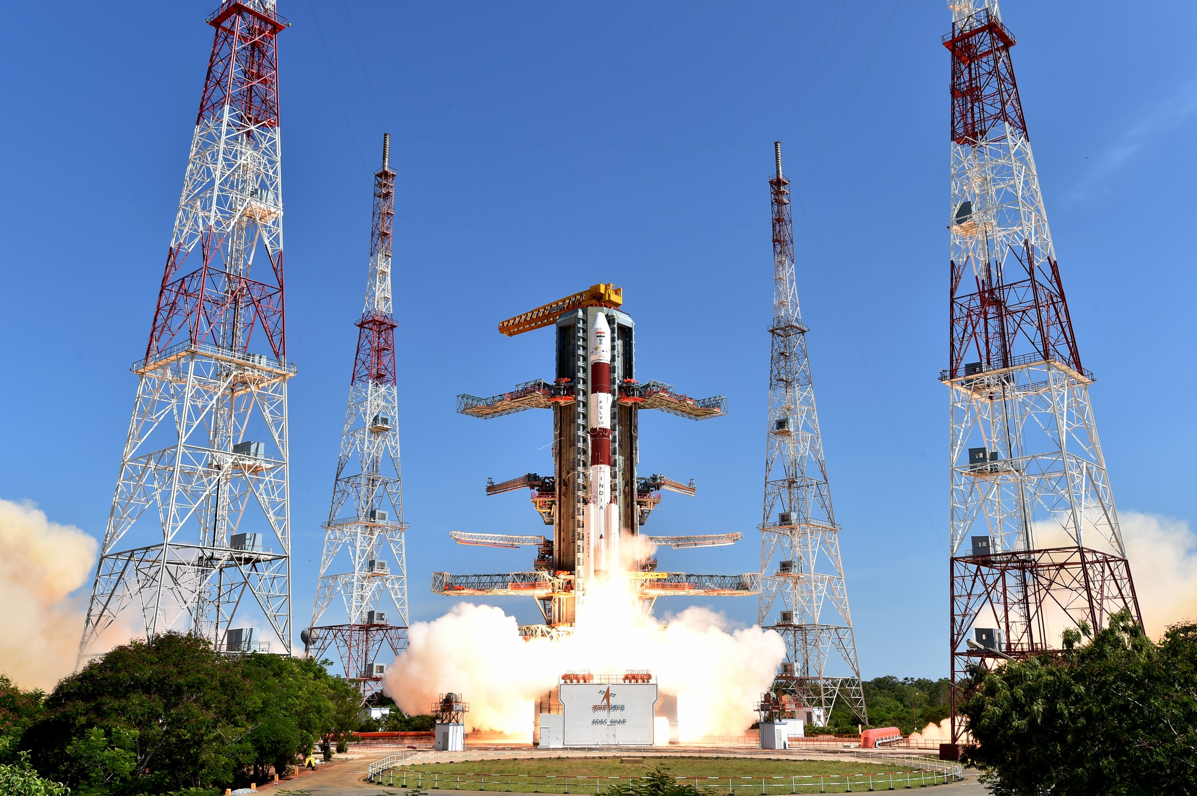 PSLV-C35 Launch Successful, For The First Time Injects Satellites In 2 Different Orbits